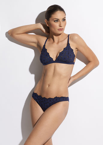 La Muse Bikini Brief in Purple