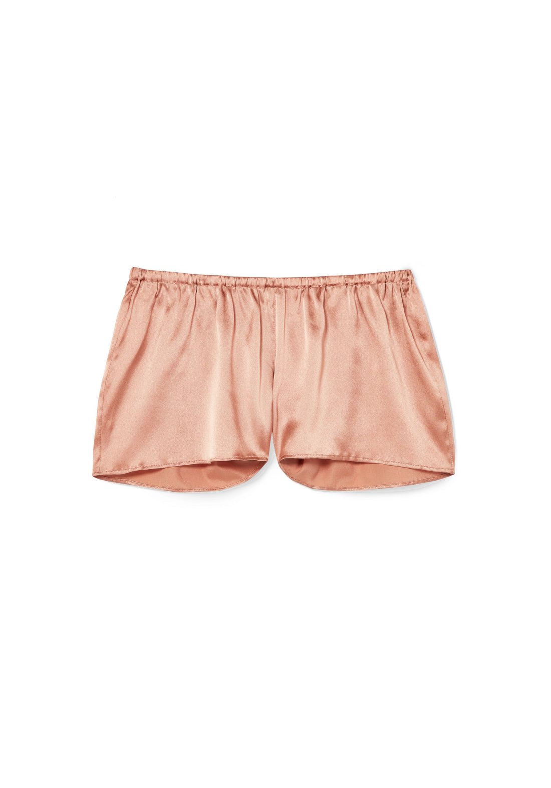 Desert Rose Pyjama Shorts in Rose Gold