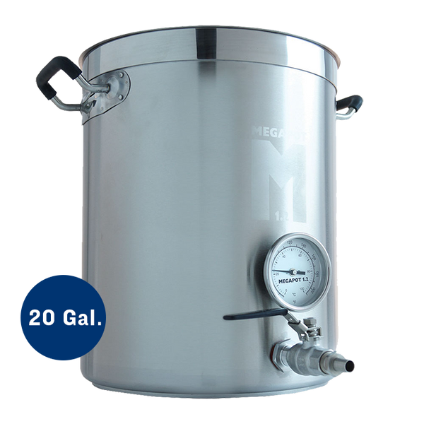 20 Gallon Megapot 1.2 Brew Kettle