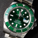 Rolex Oyster Submariner Date Hulk Green Dial Perpetual Automatic - Boutique Watch Shop