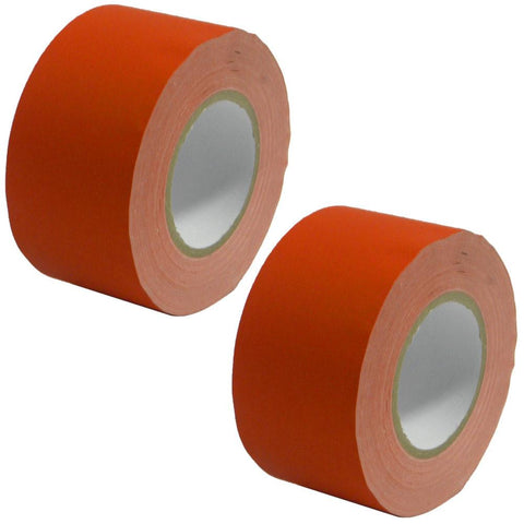 Gaffer's Tape - Red - 3 inch (2 Pack)
