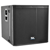 SAXLP-18A - Powered 18 Inch Line Array Subwoofer