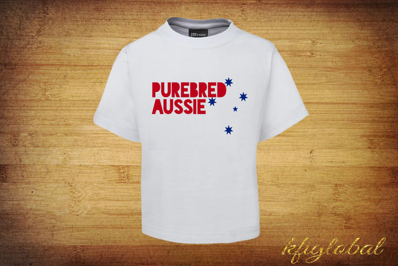 Purebred Aussie T-Shirt - Adults