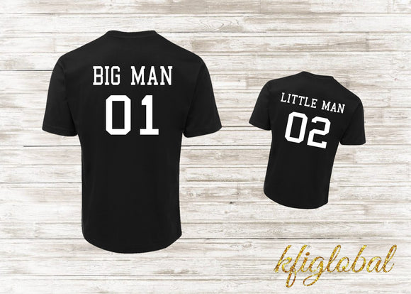 Dad and Child shirt Set