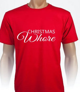 Adults Rude Christmas t-shirts