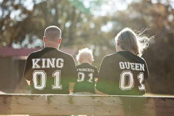 King and Queen Family Set
