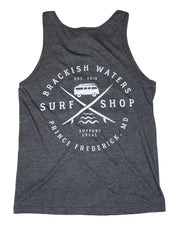 Unisex Brackish Waters Surf Van Tank