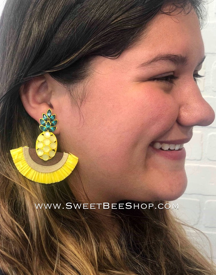 Festive Fun Summer Earrings-jewlery-Sweet Bee Boutique