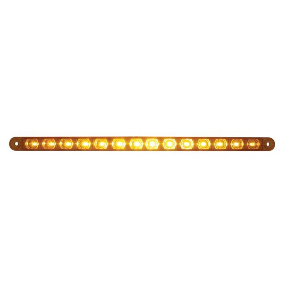 "14 LED 12"" Turn Signal Light Bar Only"