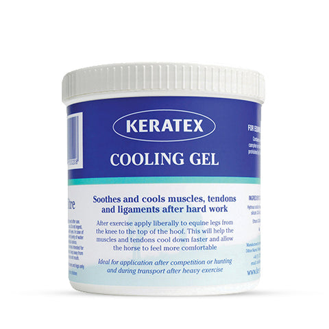 Keratex Cooling Gel - for cooling horse's legs and preventing inflammation