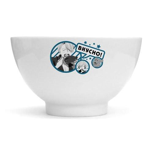 Yuri on Ice Bkycho! Tasty Yummy - Character Cospa Bowl Plate
