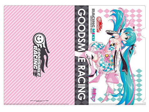 Vocaloid Hatsune Miku Racing 2019 Character Key Visual A4 Clear File Vol.2