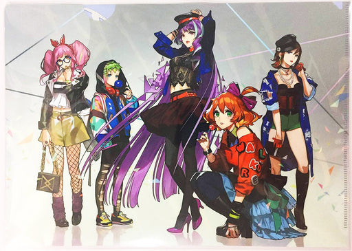 Macross Delta Walkure Full Cast A4 Character Exclusive Clear File