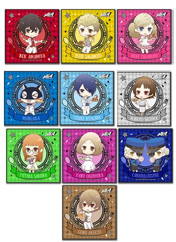 Persona 5 Collab Cafe Exclusive Microfiber Towel Type B