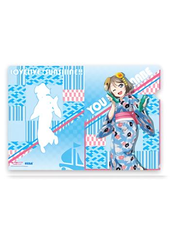 Love Live! Sunshine!! Yukata Ver. You Exclusive Character Clear File