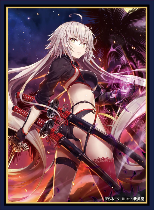 COMIC☆1 15 Fate Grand Order Jeanne d'Arc Alter Berserker - Doujin Character Sleeves FGO