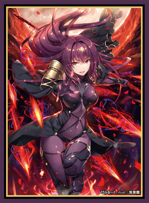 COMIC☆1 15 Fate Grand Order Lancer Shishou Scathach - Doujin Character Sleeves FGO