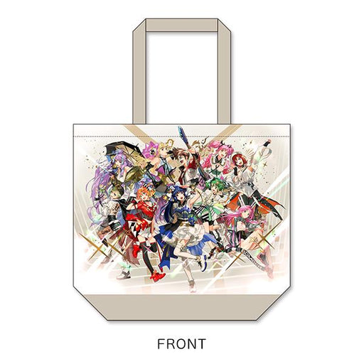 Macross Crossover Live 2019 Official Character Cotton Tote Shopper Bag