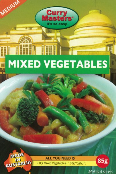 Curry Masters Mixed Vegetables85gm