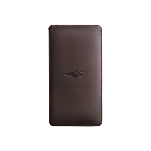 Passport smart holder in brown @Volterman
