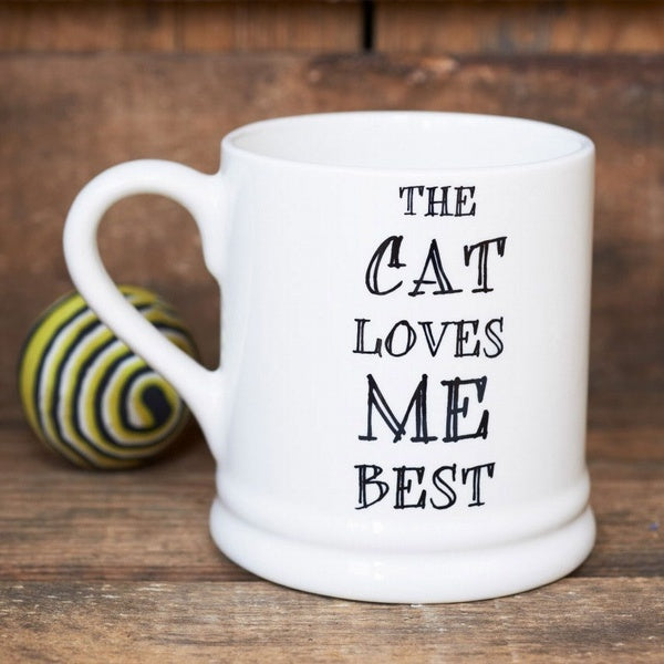 Caneca The Cat loves me best