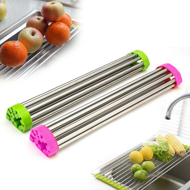 Roll-Up Folding Multipurpose Rack