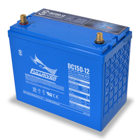 Fullriver DC150-12 Deep-Cycle AGM Battery