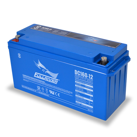 Fullriver DC160-12 Deep-Cycle AGM Battery