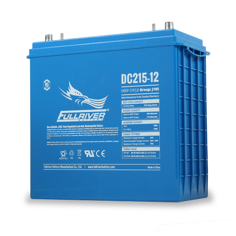 Fullriver DC215-12 Deep-Cycle AGM Battery