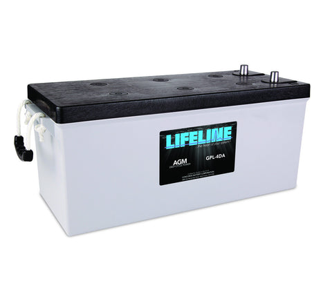 Lifeline GPL-4DA - 12v - 210AH Deep Cycle Battery