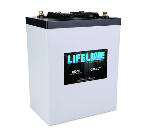 Lifeline GPL-6CT - 6v - 300AH Deep Cycle Battery