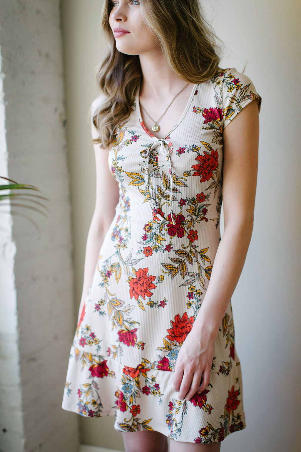 KOKOON Bon Voyage Dress in Ginger Floral 3