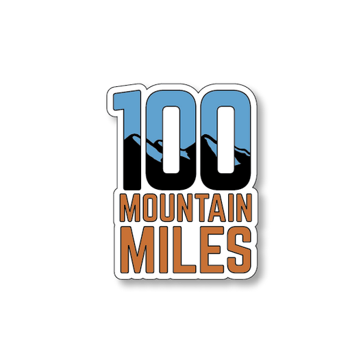 100 Mountain Miles - White/Blue/Orange - 4