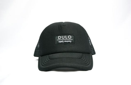 trucker hat, snapback hat, water hat, foam hat, black hat, mens hats, womens hats, dulo supply co