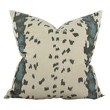 Duchamp Blue Custom Designer Pillow | Arianna Belle