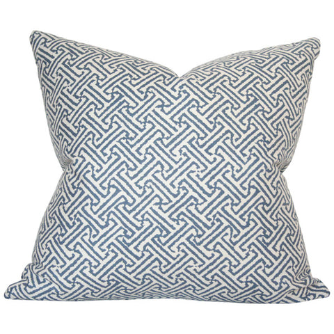 Java Java Navy Custom Designer Pillow | Arianna Belle
