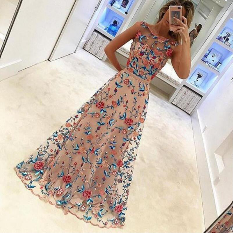 Beautiful Unique Online Affordable Long Prom Dresses, BG51528