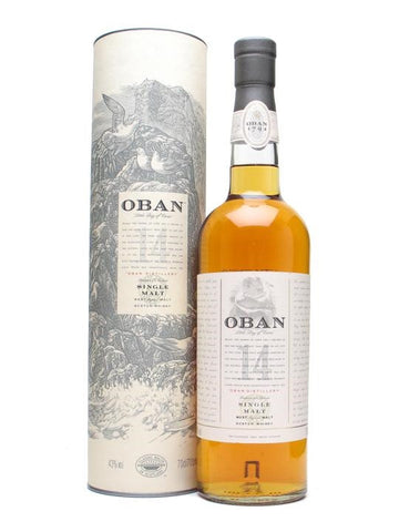 Oban 14 Year Single Malt Scotch Whisky - Wine Globe