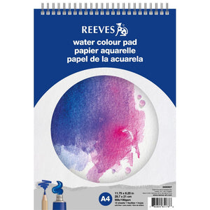 Reeves Spiral Water Colour Pad