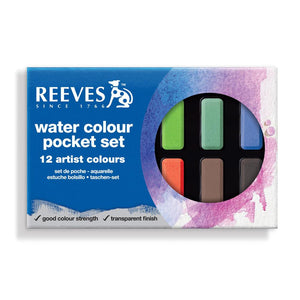 Reeves Water Colour Pocket Set