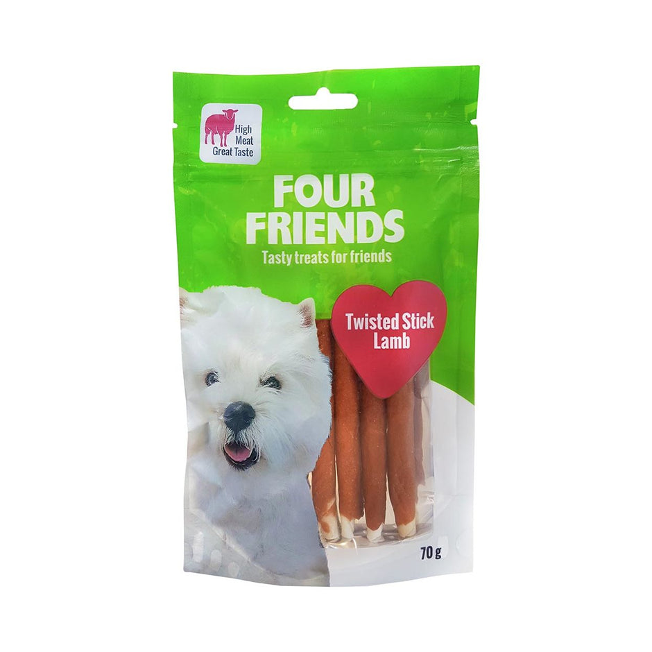 FourFriends Tuggben - Twisted Stick Lamb / 12 cm / 7 st / 70 g