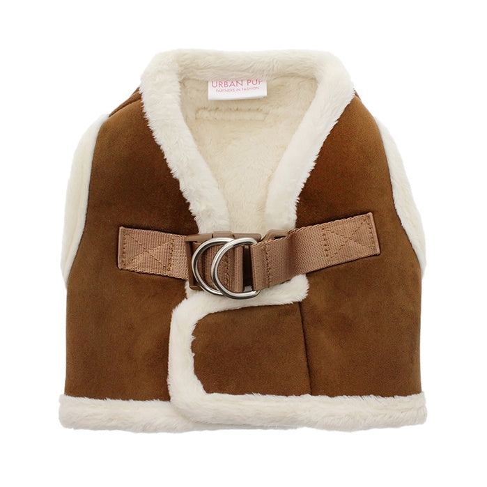 Urban Pup Luxury Harness - Faux Shearling / XS