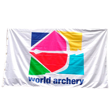 World Archery Flag
