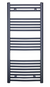Curved Towel Warmer Anthracite H:1150mm W:500mm