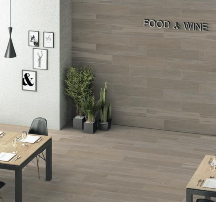 Aragon Blanco Wood Effect Porcelain