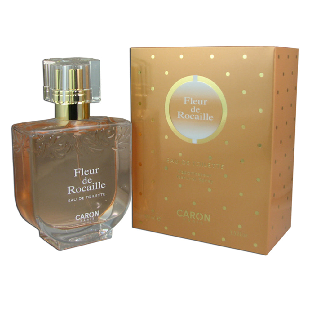 Fleur de Rocaille for Women by Caron 3.3 oz Eau de Toilette Spray
