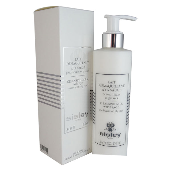 Sisley Cleansing Milk with Sage 8.4 oz Combination/Oily Skin