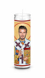 David Beckham LA Galaxy Manchester United Real Madrid Celebrity Prayer Candle