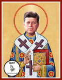 John F Kennedy JFK Political President Saint Celebrity Prayer Candles