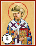 Toby Keith Saint Celebrity Prayer Candle Gift